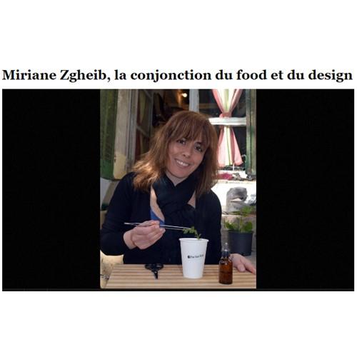 MIRIANE ZGHEIB - L'ORIENT LE JOUR